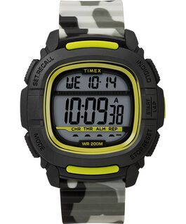MONTRE BST.47 47MM AVEC BRACELET EN SILICONE Black/Camo large