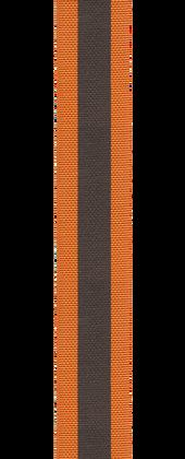 Bracelet en double tissage réversible