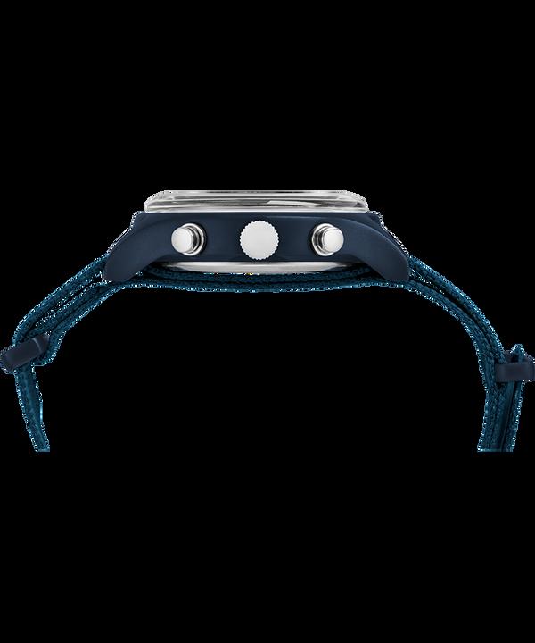 Montre chronomètre MK1 40mm Aluminium Bracelet en tissu Blue large