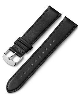 Bracelet en cuir 20mm à dégagement rapide  Noir large