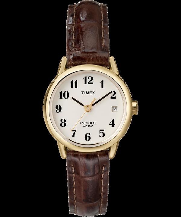 Montre Easy Reader 25mm Bracelet en cuir Gold-Tone/Brown/Natural large