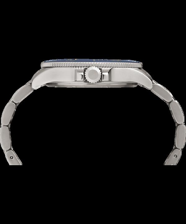 Montre bracelet Allied Coastline 43mm Silver-Tone/Blue large