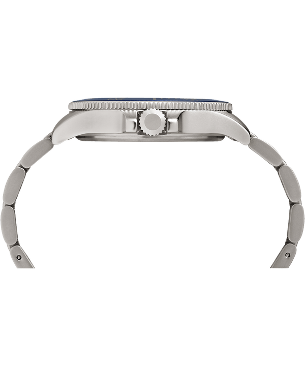 Montre bracelet Allied Coastline 43 mm Silver-Tone/Blue large