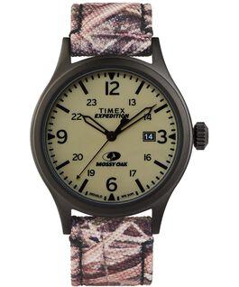 Montre Timex x Mossy Oak Expedition Scout 40mm Bracelet en tissu Noir/Marron/Vert large