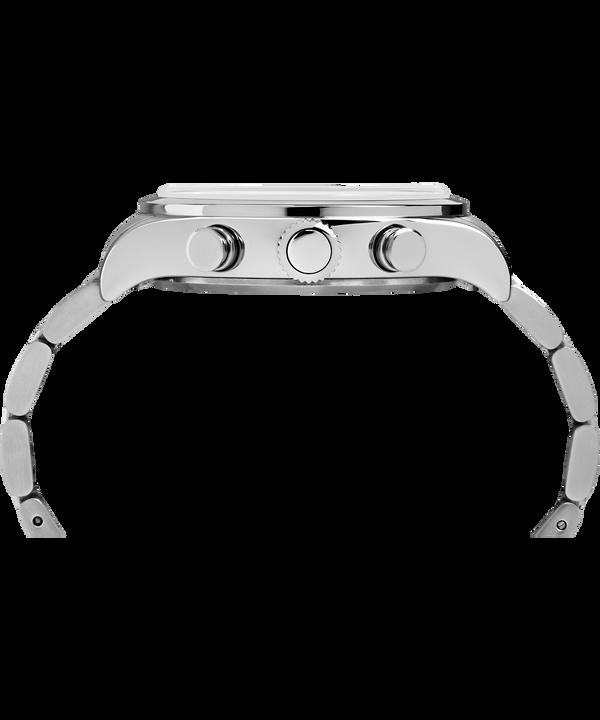 Montre chronomètre Waterbury Traditional 42mm Acier inoxydable Stainless-Steel/Black large
