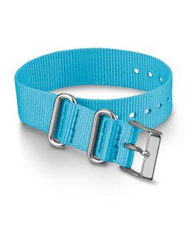 16mm Nylon Strap Blue large