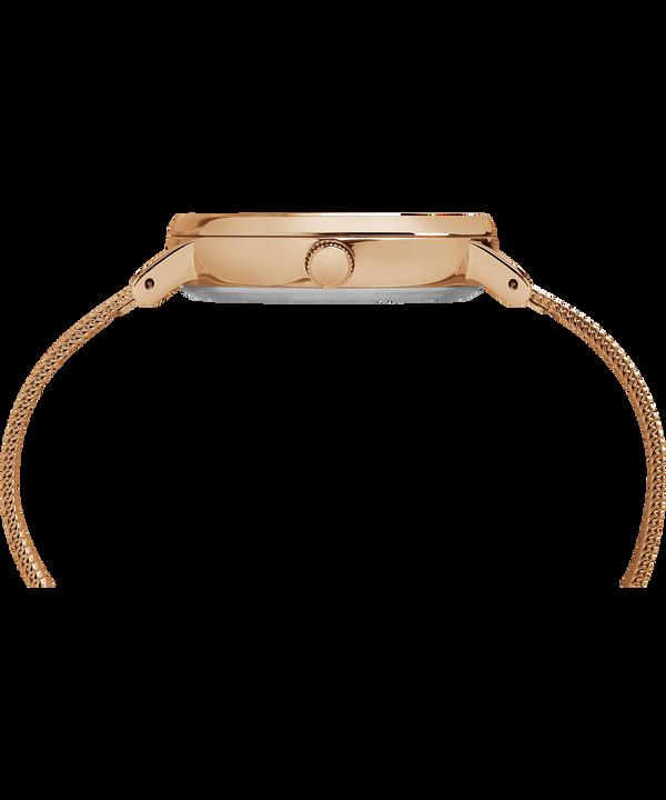 Montre Fairfield 37mm Bracelet à milanaise Rose-Gold-Tone/Natural large
