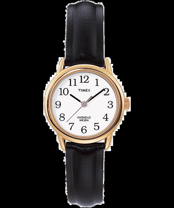 Montre Easy Reader 25mm Bracelet en cuir Gold-Tone/Black/White large