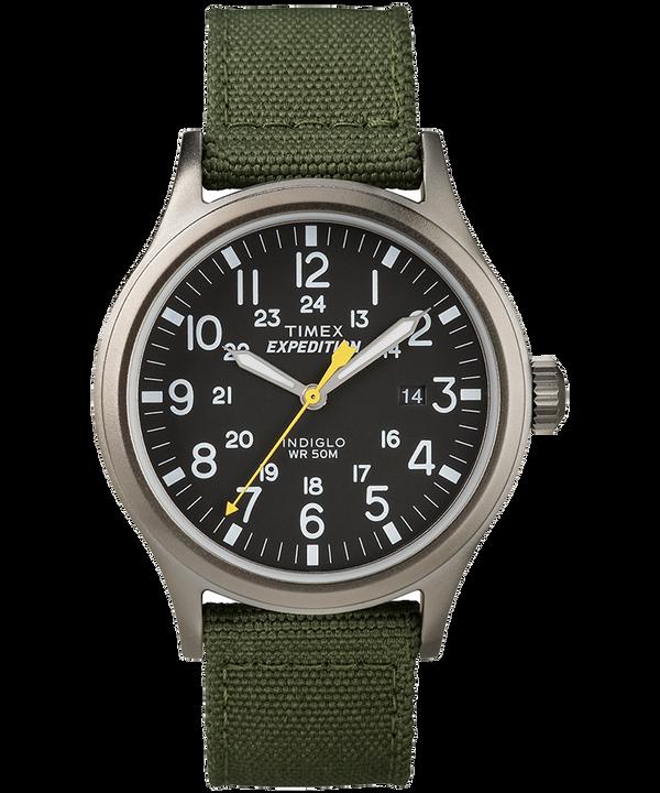 Montre Expedition Scout 40mm Bracelet en nylon Gray/Green/Black large