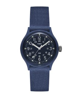 Montre MK1 36 mm Bracelet en gros-grain d'inspiration militaire  large