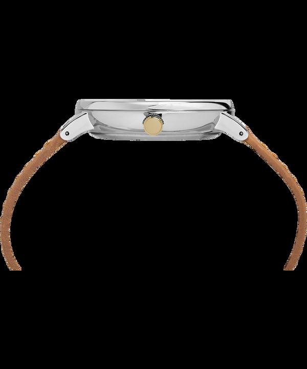 Montre Southview Multifonction 41mm Bracelet en cuir Silver-Tone/Tan/Blue large