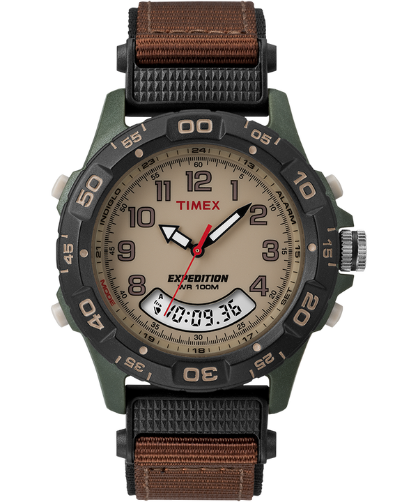 Montre Expedition 39 mm Bracelet en nylon Green/Brown/Tan/Black large