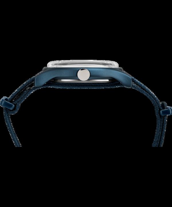 Montre MK1 40mm Aluminium Bracelet en tissu Blue large