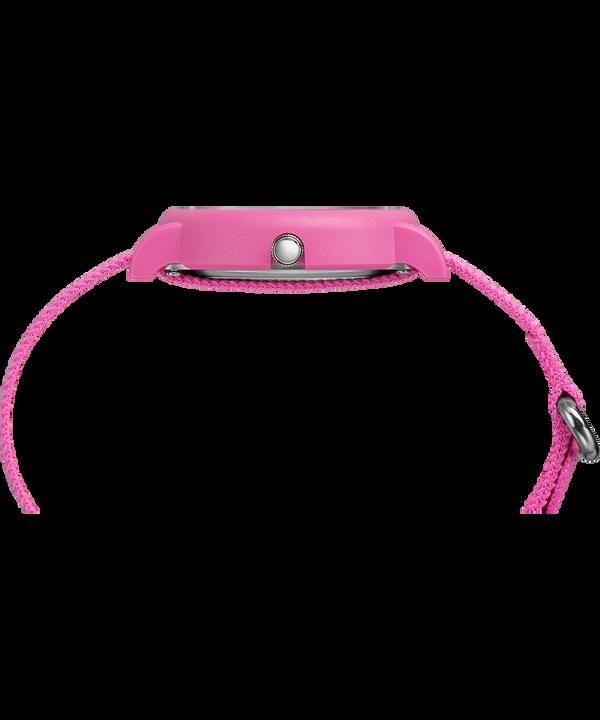 Coffret cadeau montre Weekender Color Rush 34mm avec bracelet en nylon Pink large