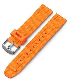 Bracelet en silicone à dégagement rapide 20 mm Orange large