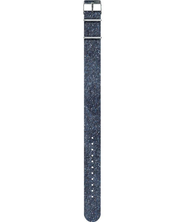 Bracelet une pièce en laine délavée à la pierre  large