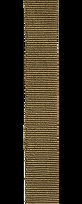 Bracelet une pièce en gros-grain d'inspiration militaire