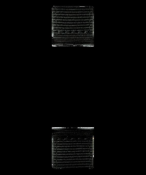 Bracelet deux pièces nylon et cuir noir  large