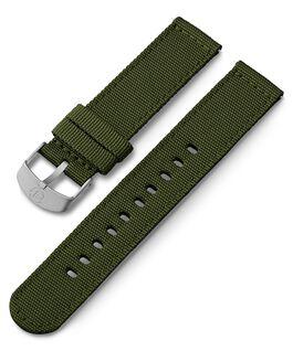 Bracelet en tissu 20mm Vert large