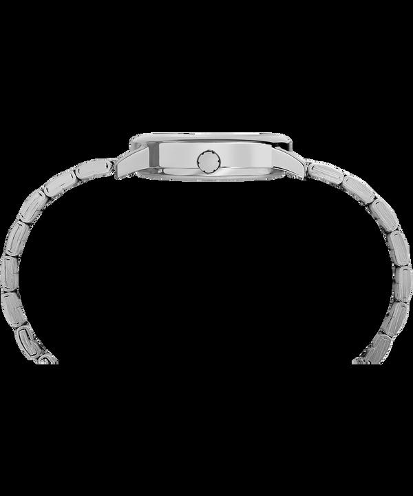 Montre bracelet Easy Reader 30mm Silver-Tone/White large