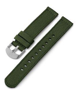 Bracelet en tissu 18mm Vert large