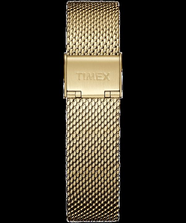 Bracelet à milanaise 18mm Gold-Tone large
