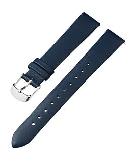 Bracelet en cuir de 16mm Bleu large
