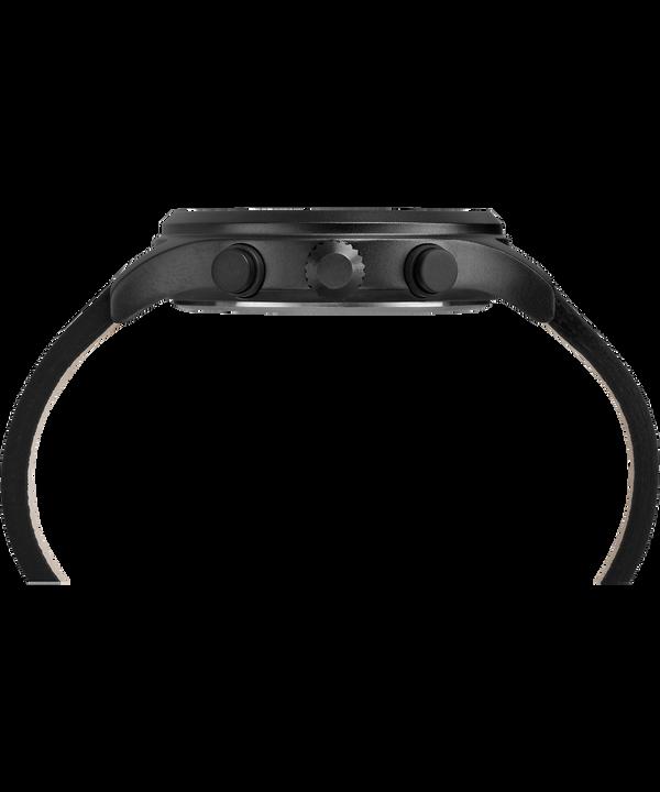 Montre chronomètre Allied 42mm Bracelet en cuir Black large
