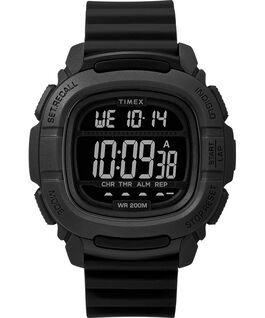 MONTRE BST.47 47MM AVEC BRACELET EN SILICONE Black large