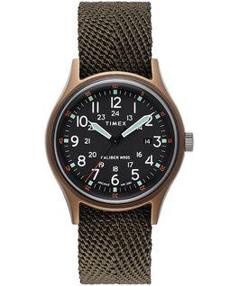 Montre MK1 40mm Bracelet en tissu Vert large