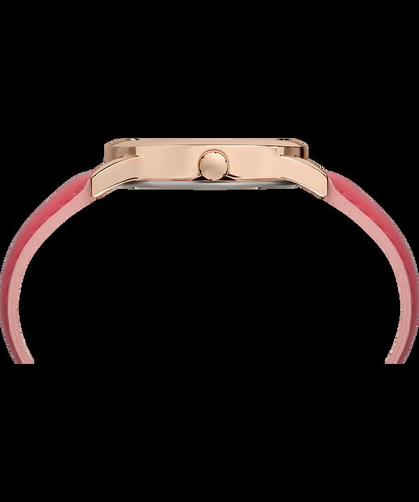Montre Easy Reader Color Pop 38mm Bracelet en cuir Rose-Gold-Tone/Pink/Cream large
