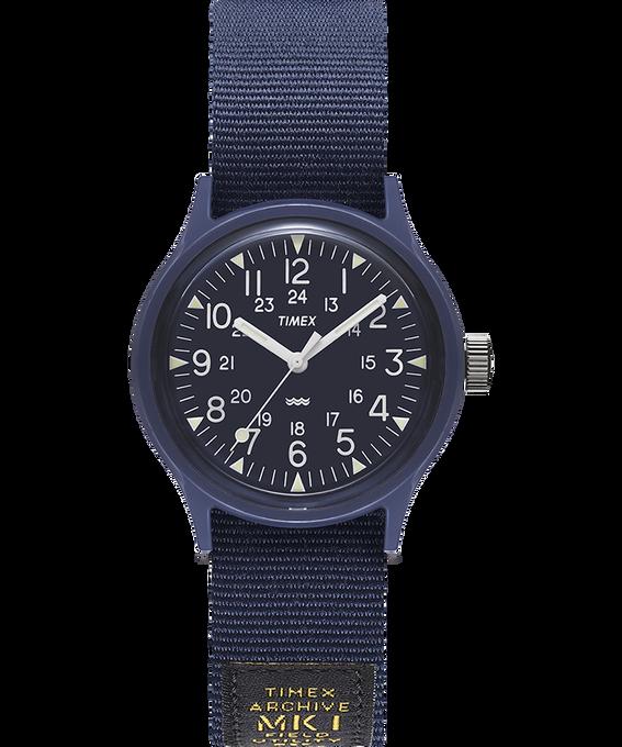 Montre MK1 Military 36mm Bracelet en gros-grain Bleu large