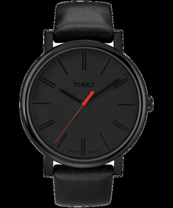 Originals Oversized Leather Watch Black large