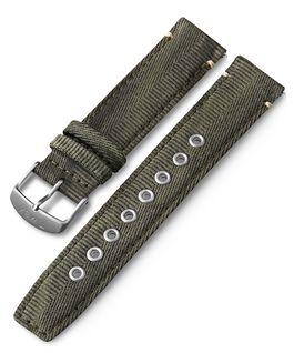 Bracelet en tissu à dégagement rapide 20mm Vert large