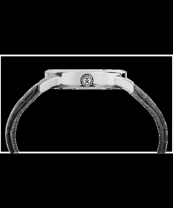 4d7591e7a135 Reloj Easy Reader Signature de 38 nbsp mm con correa de cuero Chrome Black