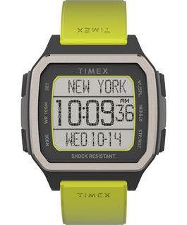 Command Urban 47mm Resin Strap Watch Black/Green large