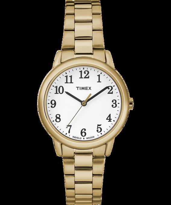 Montre bracelet Easy Reader 30mm Gold-Tone/White large