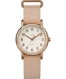 Montre Weekender 31 mm Bracelet en nylon Rose-Gold-Tone/Pink/Cream large