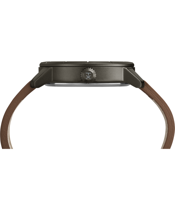 Montre Mod44 44mm Bracelet en cuir Black/Brown large