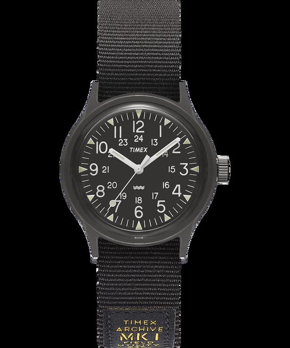 Montre MK1 Military 36mm Bracelet en gros-grain Noir large