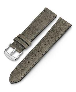 20mm iQ Light Grey Leather Strap Gray large