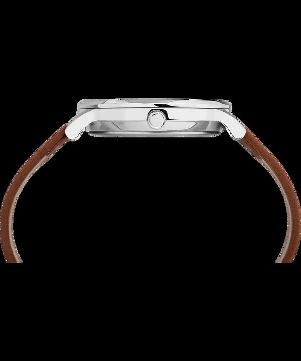 Montre Waterbury Classic 40mm Bracelet en cuir Stainless-Steel/Tan/Black large