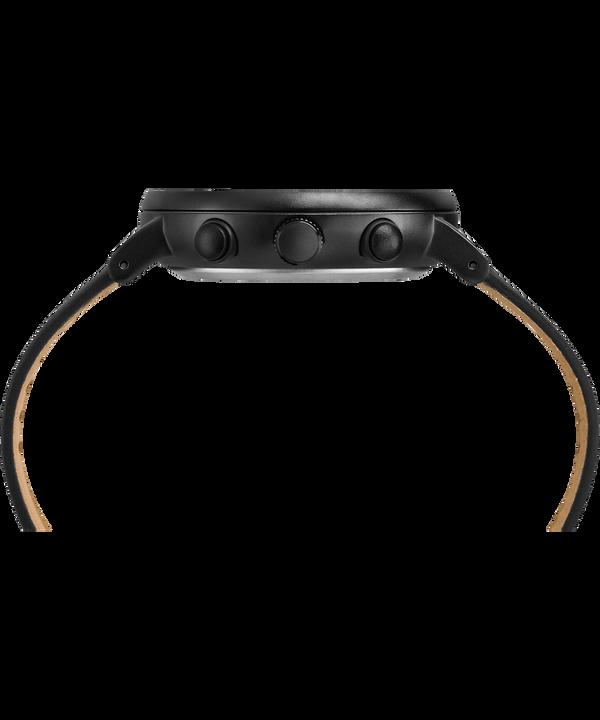Montre chronomètre Fairfield 41mm Bracelet en cuir Black large