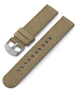 Bracelet en tissu 20mm Brun large