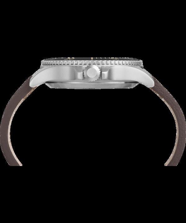 Montre Expedition Ranger 43mm Bracelet en cuir IP-Steel/Tan/Natural/Black large