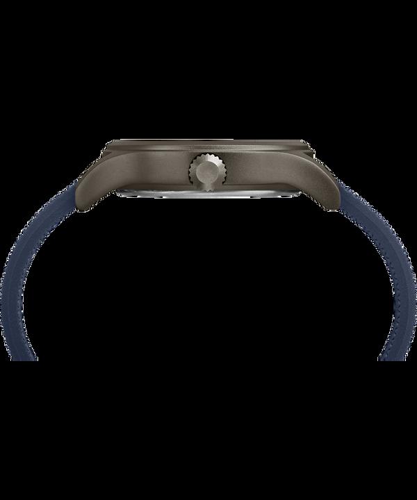 Montre Allied 40mm Bracelet en silicone Gray/Blue large
