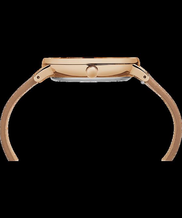 Montre Fairfield 41mm Bracelet en cuir Rose-Gold-Tone/Tan/Natural large