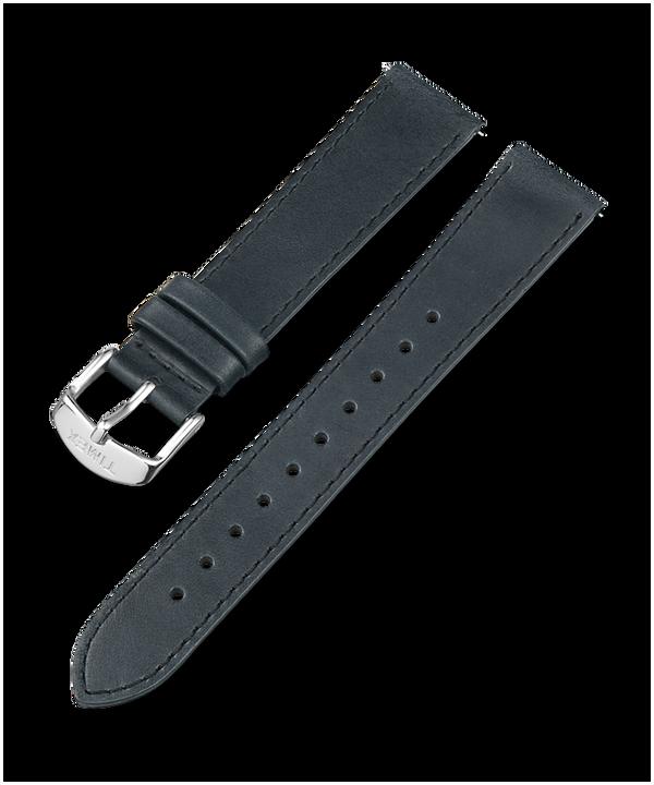 Bracelet en cuir de 18mm Black large