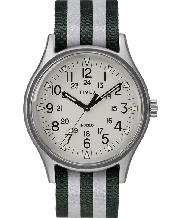 MK1 Aluminum 40mm Reflective Nylon Strap Watch  large