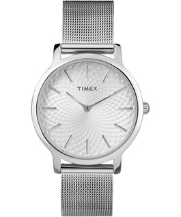 Metropolitan 34mm Stainless Steel Watch Silver-Tone large